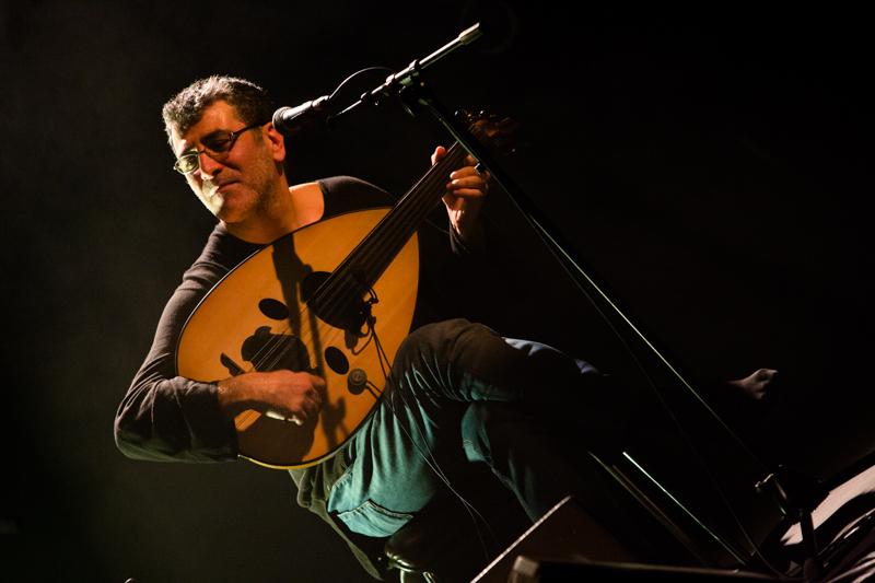 Interzone - Khaled AlJaramani - Concert à la Bobine (Grenoble / France 2013)