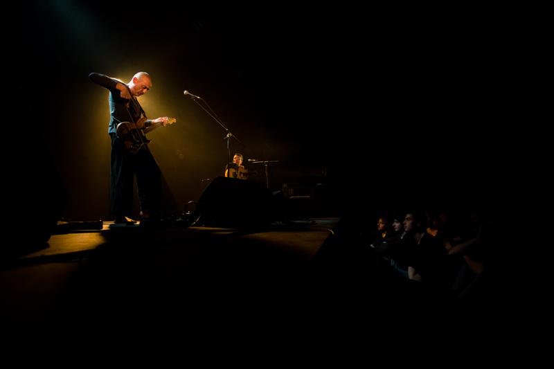 Interzone - Serge Teyssot-Gay et Khaled AlJaramani - Concert à la Bobine (Grenoble / France 2013)