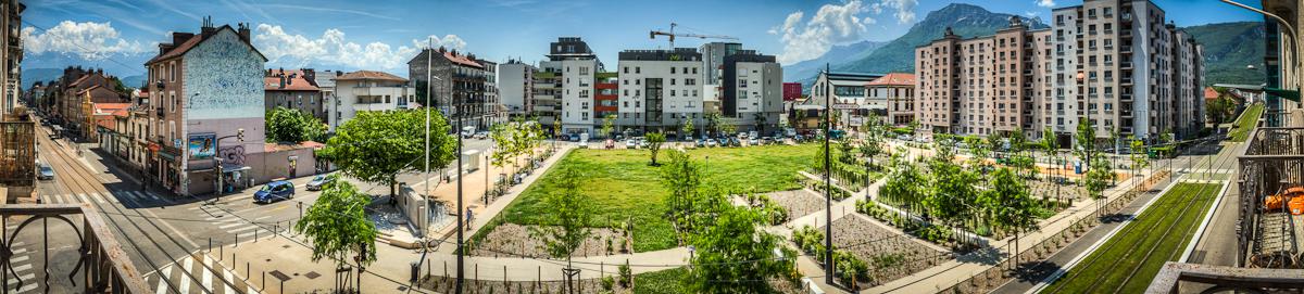 Square des fusilles / Grenoble