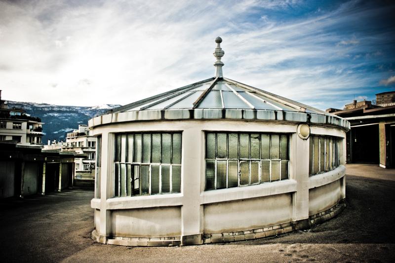 Parking hélicoïdal - Grenoble